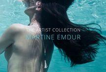 The Artist Collection / The Fairfax and Roberts new Artist collection. A collaboration with Australian artist Martine Emdur. Statement handmade enamel pendants to be worn everyday.