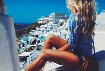 "Santorini Dreams ★ / ""Happy is the man, I thought, who, before dying, has the good fortune to sail the Aegean sea."" ― Nikos Kazantzakis"
