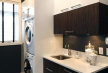 Laundry Spaces / How to get a functional useful laundry space - ideas and inspiration
