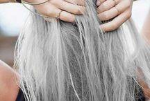 Gri Saç Renkleri / Yılın trendi gri saç renkleri!