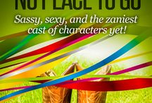 Tied With a Bow and No Place to Go / Book three in the Tizzy/Ridge series / by http://www.anneverett.com