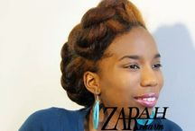 Natural hairstyles / African natural quick hairstles