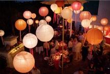 Ideas para decorar con globos de papel