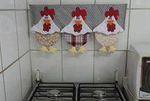 Mutfak-fırın süsü