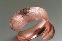 unique copper jewelry / by Rima Leinbach