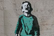 Banksy English Artist / Graffiti