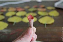 para hacer  flores