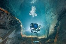Scuba Diving Bucket List / List of the most amazing spots underwater I want to explore scuba diving.