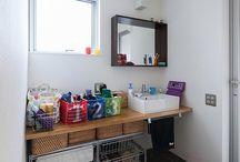 洗面・バスルーム / 香川県でソラマドの家を建てています、センコー産業です。 香川県内で手掛けた「ソラマドの家」の写真(施工例)を掲載しています。 実際に「ソラマドの家」を見たい方。香川県綾歌郡宇多津町にモデルハウスもございます。ぜひ遊びに来てください♬