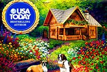 Liz Lucas Cozy Mystery Series / Cozy murder mystery books with food, dogs & recipes set in Northern California.