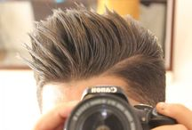Best Hairstyles for Men: Spikes / A collection of the best spiky men's hairstyles.  #spikyhair #spikyhairstyles #spikes #menshairstyles #hairstylesformen #menshair #menshaircuts