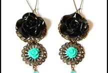 Bead Addiction earrings