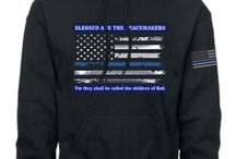 Thin Blue Line Sweaters and Jackets