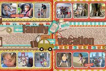 Scrapbook Pages / by Kim Eddleman