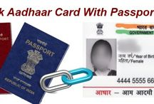 Link Aadhaar With Passport / Get your passport online with in ten days at your home, if you have aadhaar card along with you.