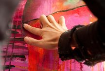 ARTIST flora bowley / instinctive painter  that i love  come and see the vibrant colors she use!!!