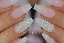 French Acrylic Nail Designs