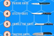 Kitchen Knives / Kitchen Knives and Accessories