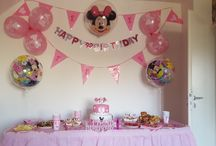 minnie Maus party / minnie Maus party from my babygirl! Lucia's First Birthday