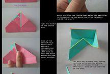 origami opakowania