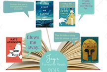 Staff Favourites 2015 / Best books read in 2015 by staff members at Coquitlam Public Library.
