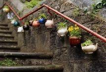 Quirky plant pots