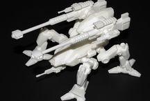 Iron Legions 3d Print / 3d printed mechs! / by Overlord Nymbryxion