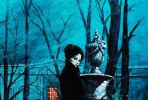 Gothic Romance Novel Art