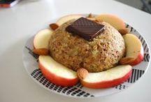 dessert avec flocons d'avoine