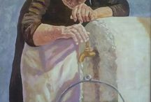 My Art Portfolio / My art portfolyo. Surf, Portrait,  peysage painting. hursitilbeyi.com