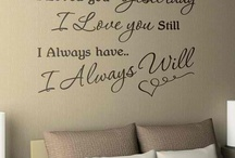 WALL DECALS / by Sandra Perez Choy