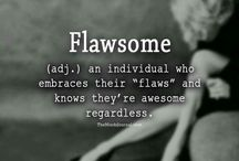 2018 Flawsome! / Word to see me through 2018!