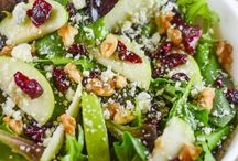 Salads and Salad Dressings / Salads and Salad Dressings that are from scratch, healthy and tasty.