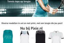 Pixie.nl tennis collectie