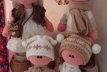 Вязание,игрушки