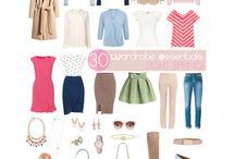 capsule wardrobe inspirations