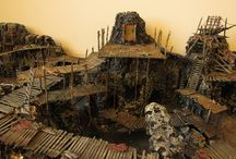 Board game terrain