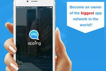 Become an owner of the biggest app!! / Step to follow :  1. Download Apping  2. Create an open (public) app network and enter all business details 3. Choose an appname (eg.,#sale365) for your app network from the available names  4. Once your app is ready!, Invite/promote/market your app as to let people JOIN, SHOP and INTERACT  5. Promote your app as eg., #sale365 (appname) on apping  6. Advertise in your app, sell products and monetize from your app and go BIG!