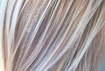 волосы стиль