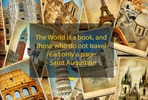 Travel Quotes / These are just a few of our favourite travel quotes!