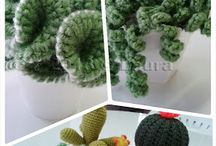 Crochet plants and flowers