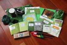 Montessori: Continent Boxes