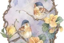 vintage bird images