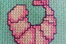 x-stitching I did