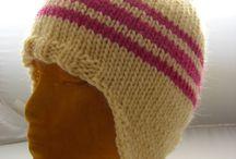 Čepice - pletení