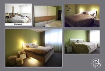 Vorher Nachher Schlafzimmer Plattenbau / Aus der alten Karat-Schrankwand wird ein modernes farbenfrohes gemütliches Schlafzimmer. Mit altersgerechtem Bett mit automatischer Beleuchtung per Bewegungsmelder.