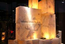 Christmas shop design