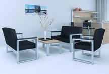 Loungemöbel zum Wohlfühlen / Für Meetings, Pausen oder kurze Besprechungen