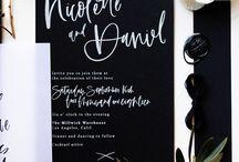 01_Calligraphic wedding invitations