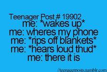 Teenager Posts<3